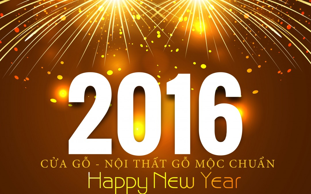 Happy new year 2016 Moc Chuan